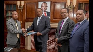 Uhuru cancels Kimwarer dam project - VIDEO