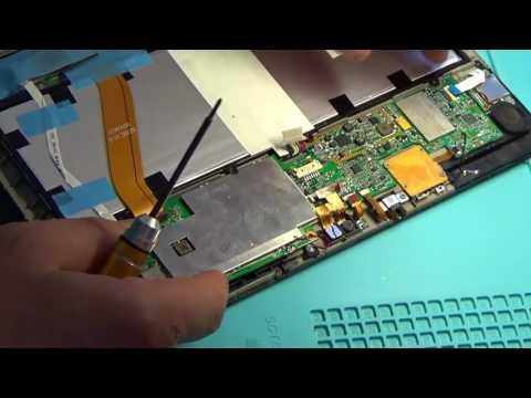 Замена контроллера зарядки BQ24196 на планшете Prestigio PMP7100D3G QUAD