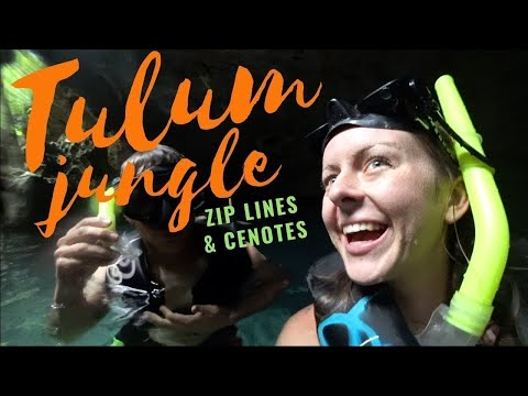 EPIC Jungle Zip Lines & Cenotes – TULUM, MEXICO
