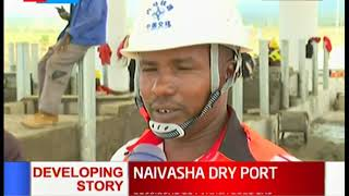 Naivasha dry port set to be launched by President Kenyatta on Tuesday