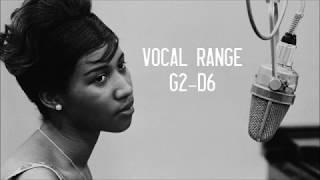 The Vocal Range of Aretha Franklin