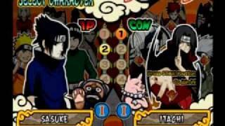 Naruto Ultimate Ninja 4 - Sasuke vs Orochimaru & Itachi