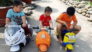 Đồ Chơi Trẻ Em Bé Pin Người Anh Xảo Quyệt❤ PinPin TV ❤ Baby Toys Brother Insidious