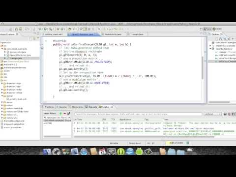 Android Development Course - Chapter 35 - OpenGLES