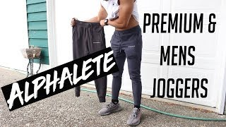 DID THEY DISAPPOINT? | ALPHALETE REGULAR & PREMIUM JOGGERS REVIEW | LEG DAY