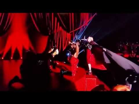 REVEALED: MADONNA STAGE FALL AT BRIT AWARDS 2015 - REASON CAPTURED ON CAMERA
