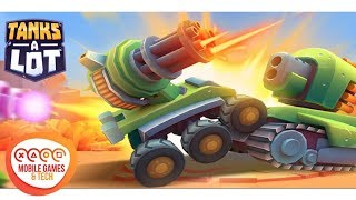 Tanks A Lot! Realtime Multiplayer Battle Arena Android iOS Gameplay 1080p 60fps