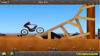 Game dua xe dia hinh - Game đua xe môtô biểu diễn rất hấp dẫn
