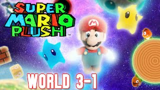 Super Mario Plush World 3-1