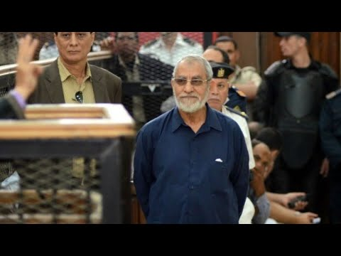 العرب اليوم - الحكم بالسجن المؤبد على مرشد الإخوان المسلمين محمد بديع