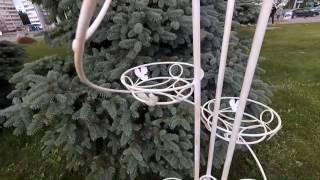 """Подставка для цветов и вазонов S 06 спираль от компании Компания """"TECHNOVA"""" - видео"""