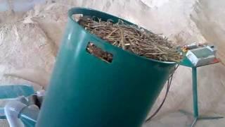 šrotovník drtič grinder schreddr straw stroh hammer mill RS 750 Strohmühle sláma