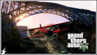 GTA V-Самые Сложные Трюки под Мостами #10 (GTA 5 Трюки)