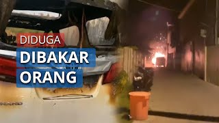 Mobil Milik Via Vallen Diduga Dibakar Orang Tak Dikenal, Pelaku Disebut Dibawa di Kantor Polisi