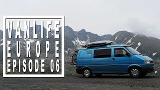 Van Life Vlog: Vanlife at the top of the Pyrenees