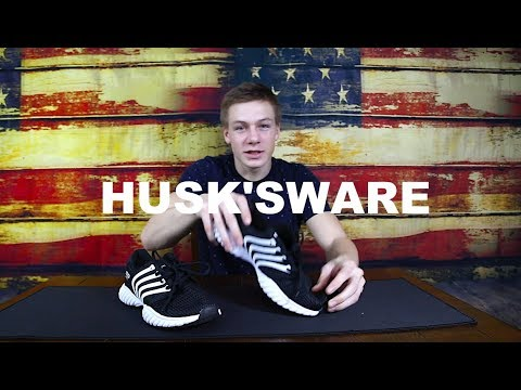 HUSKSWARE Mesh Running Shoes Breathable Sneakers