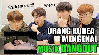 REAKSI ORANG KOREA MENGDENGARKAN MUSIK DANGDUT INDONESIA I 인도네시아 당둣 노래 들어보기