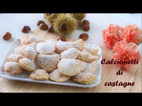 CALCIONETTI di castagne 🌰 | Ricetta facile | Lorenzo in cucina | chestnut's ravioli