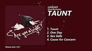 Musik-Video-Miniaturansicht zu Taunt Songtext von Lovejoy (band)