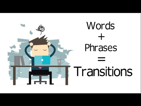 Transition Words and Phrases in Writing