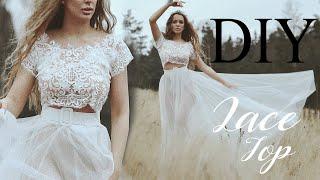 DIY Lace Top NO! BASIC PATTERN USE | Tijana Arsenijevic