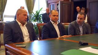 Встреча Мурата Кумпилова и  Федора Емельяненко, Майкоп, 7 октября 2017 г.