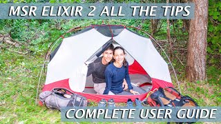 MSR ELIXIR 2 BACKPACKING TENT HONEST COMPLETE REVIEW | Pros and Cons and All the Tips