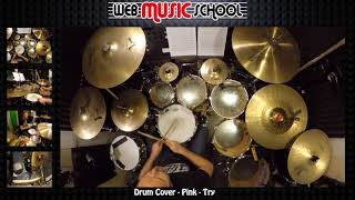 Pink   Try   DRUM COVER