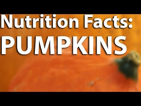Nutrition Facts - Pumpkins