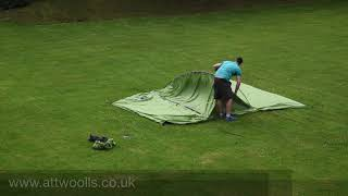Vango Skye 500 Tent Pitching (Real Time) Video