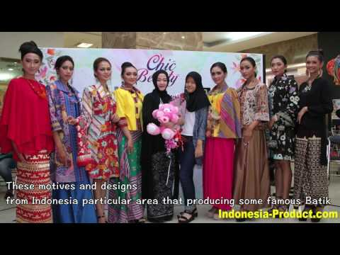 Indonesian Batik Motives And Designs Belongs To Elegant Batik