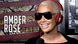 Ebro In The Morning - Amber Rose Announces She is Taking Over Loveline, Updates Her Love Life + Wanting Another Kid w/ Wiz