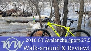 2016 GT Avalanche Sport 27.5 Walk-around and Review!