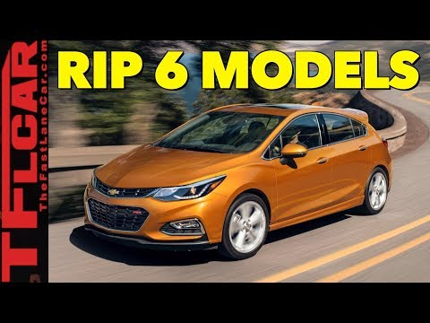 Breaking News: These Are The 6 Cars That GM Killed Today!