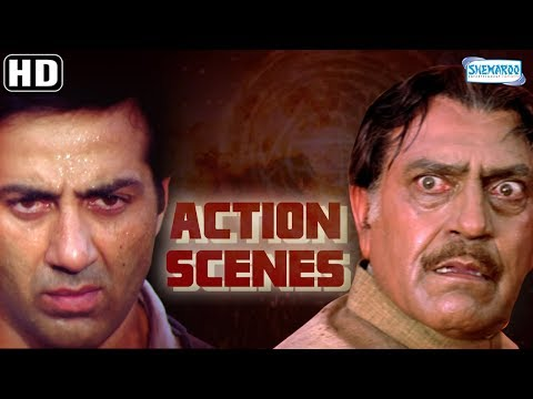 Download Action Scenes From Salaakhen (1998)(HD) Sunny Deol - Amrisah Puri - Anupam Kher - Hit Hindi Movie HD Mp4 3GP Video and MP3