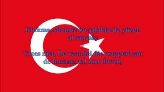 Turks volkslied (TR/Nederlands tekst) - Anthem of Turkey