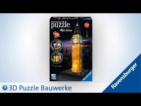 Ravensburger 3D Puzzle: Big Ben bei Nacht