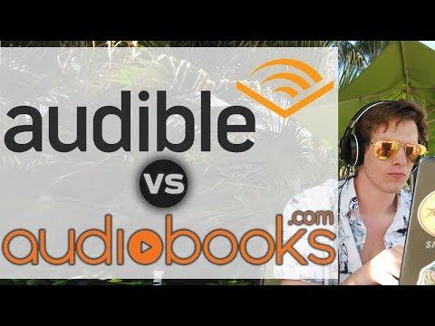 Audible vs Audiobooks com (Honest comparison)