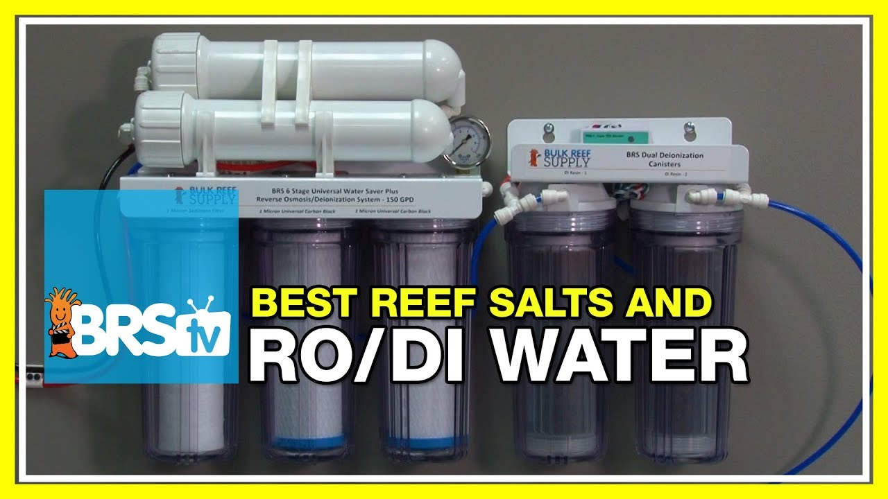 Week 7: How to produce the best water possible | 52 Weeks of Reefing #BRS160