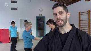 Zanshin Erlangen | Selbstverteidigung für Blinde | Bayerisches Fernsehen |