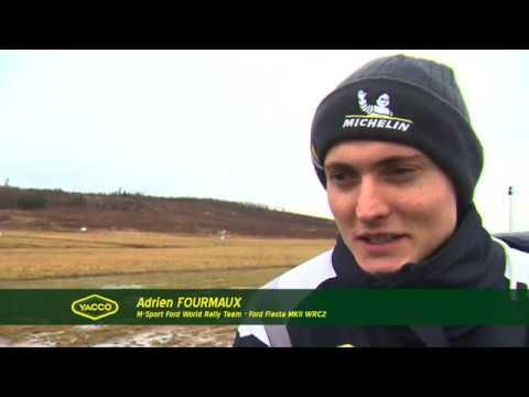 Rallye de Suède 2020, avec Adrien Fourmaux et Renaud Jamoul