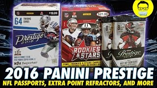 "2016 Panini Prestige Retail Box IRL - In Real Life Retail Football Card - ""Panini Football Cards"""