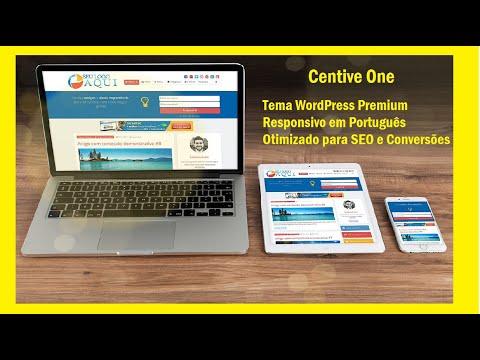 Tema WordPress Otimizado Centive One - Com Desconto  - Centive Avante Sem Desconto