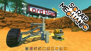 ( Scrap Mechanic ) LordPain's Mods: Ball Joints, Suspensions & More V-Engine Parts