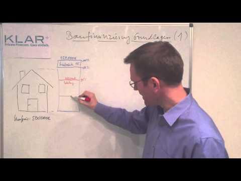 Grundlagen der Baufinanzierung 1 - Kapitalbedarf und Beleihungswert