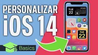 iOS 14 ¡PERSONALIZA AL MÁXIMO TU IPHONE EN 5 MINUTOS!
