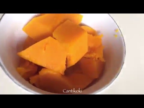 How To Make Pumpkin Doughnut | Cara Membuat Donat Labu
