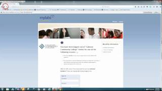 Accessing MyLabsPlus from Blackboard