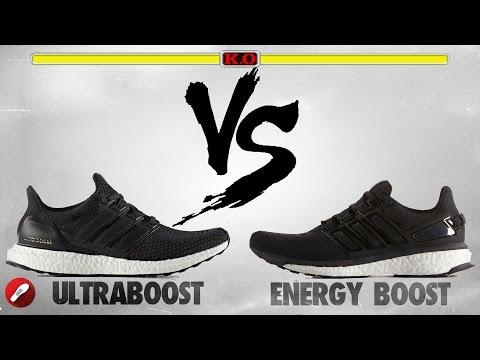 Adidas Ultra Boost vs Adidas Energy Boost!