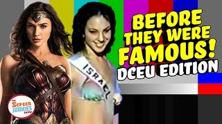 Before They Were Famous: Wonder Woman & DC Extended Universe!